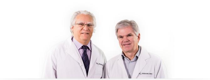 Drs. Joel Niznick and Brendan Quinn